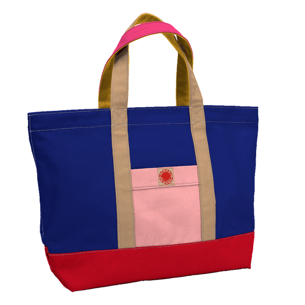 """Big Sur"" Zippered Tote (BS170025Z)"