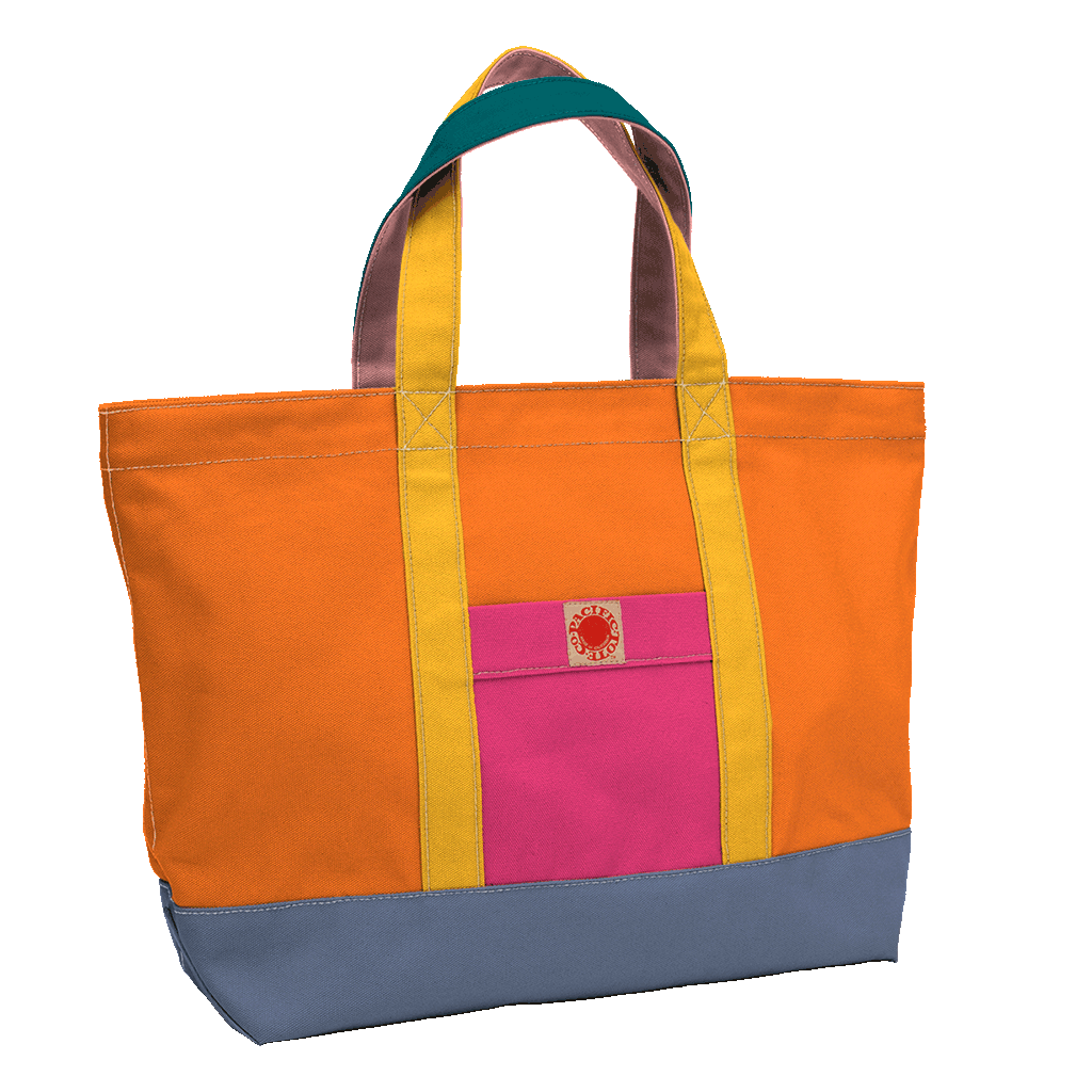 """Big Sur"" Zippered Tote (BS170027Z)"
