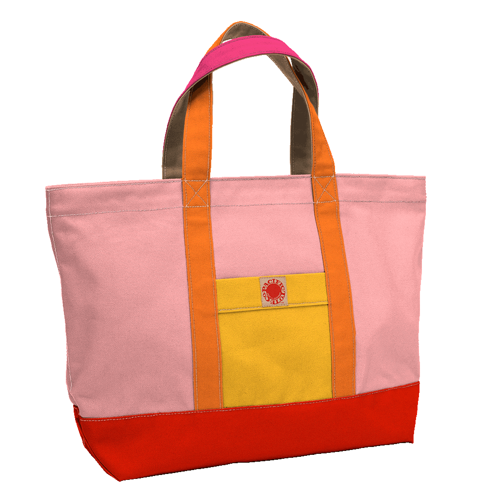 """Big Sur"" Zippered Tote (BS170029Z)"