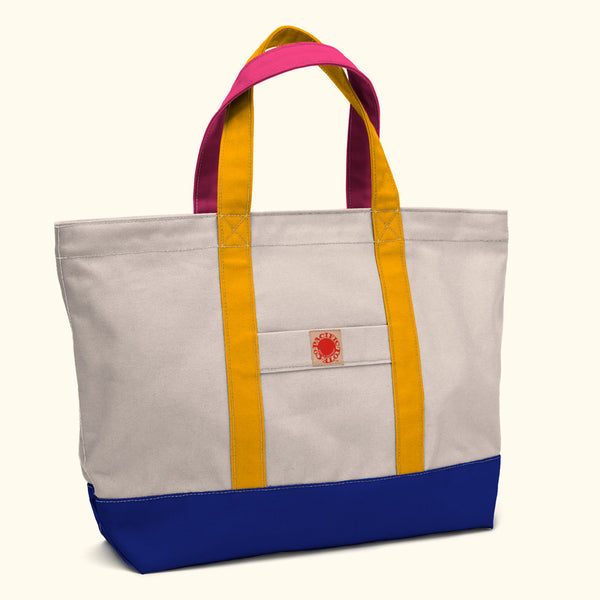 """Big Sur"" Zippered Tote (BS180001Z)"