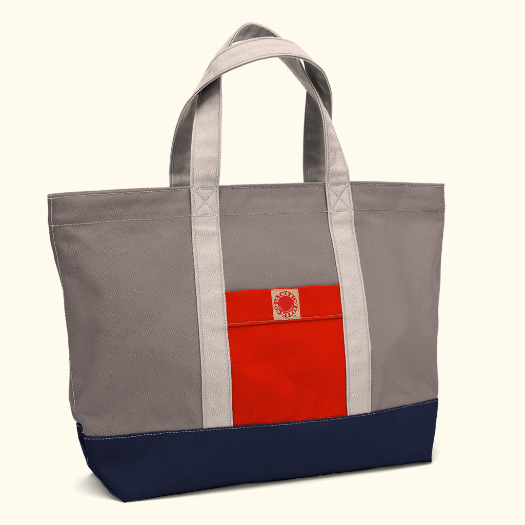 """Big Sur"" Zippered Tote (BS180002Z)"