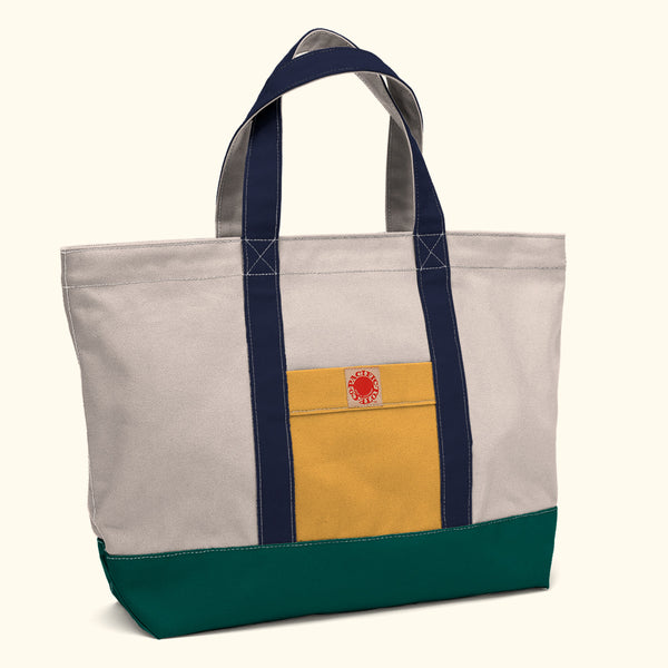 """Big Sur"" Zippered Tote (BS180003Z)"
