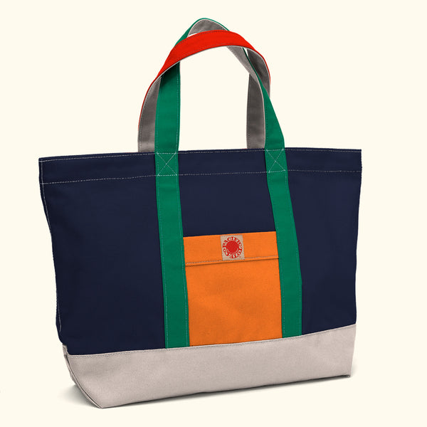 """Big Sur"" Zippered Tote (BS180004Z)"
