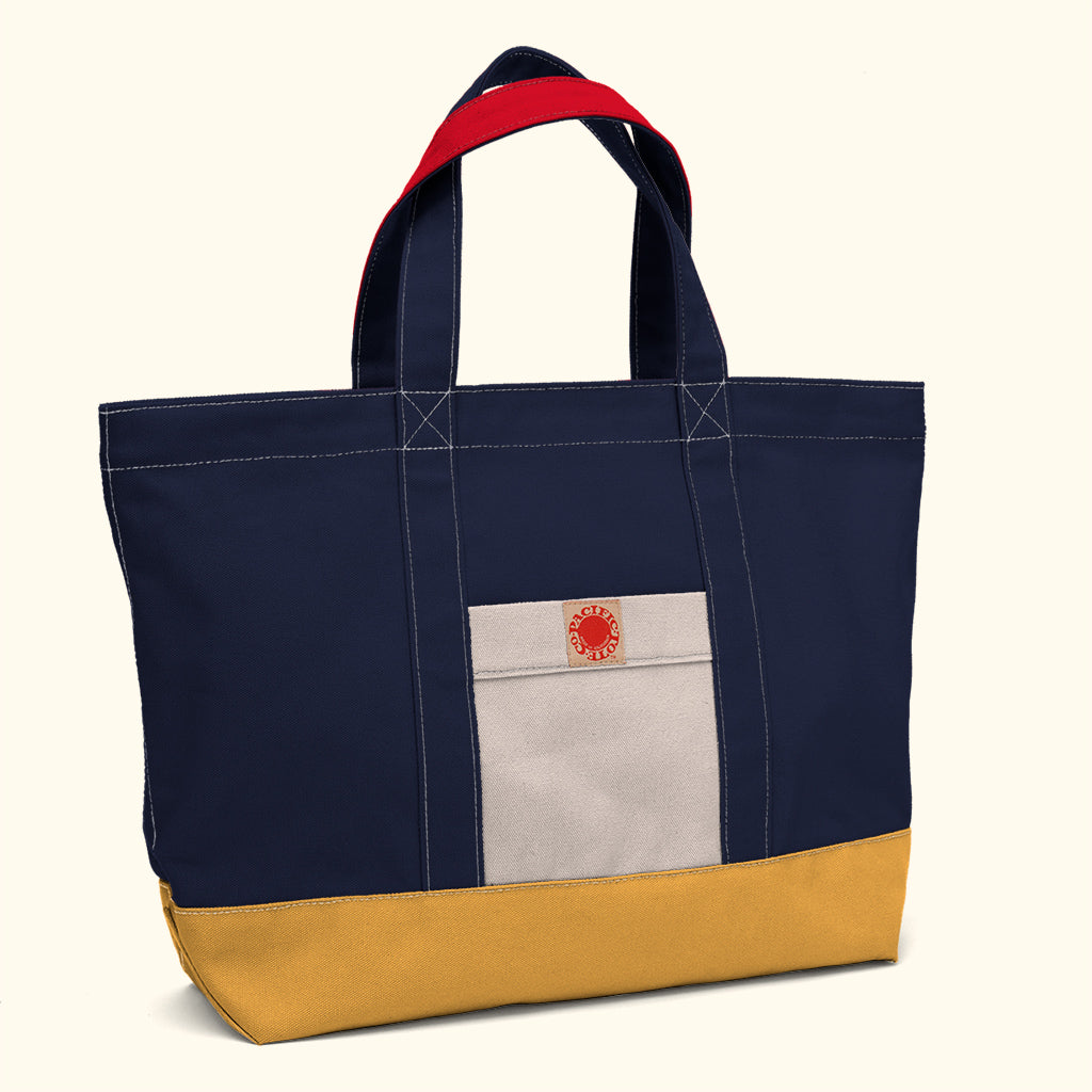 """Big Sur"" Zippered Tote (BS180006Z)"