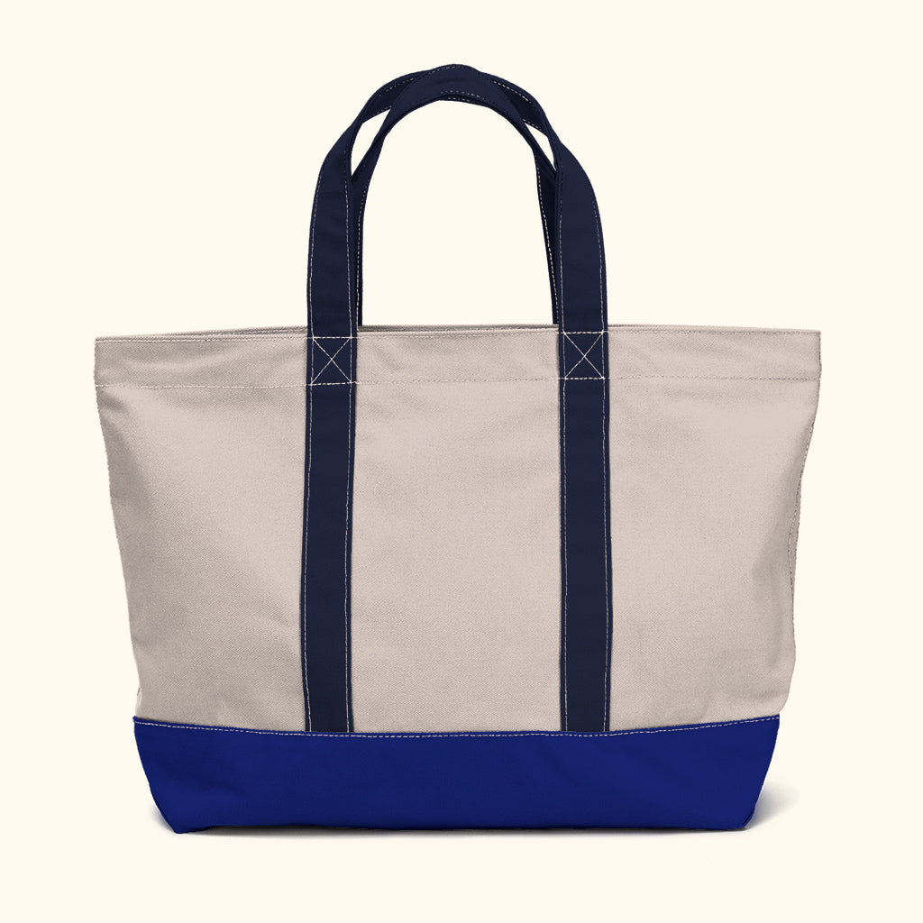 """Big Sur"" Zippered Tote (BS180008Z)"