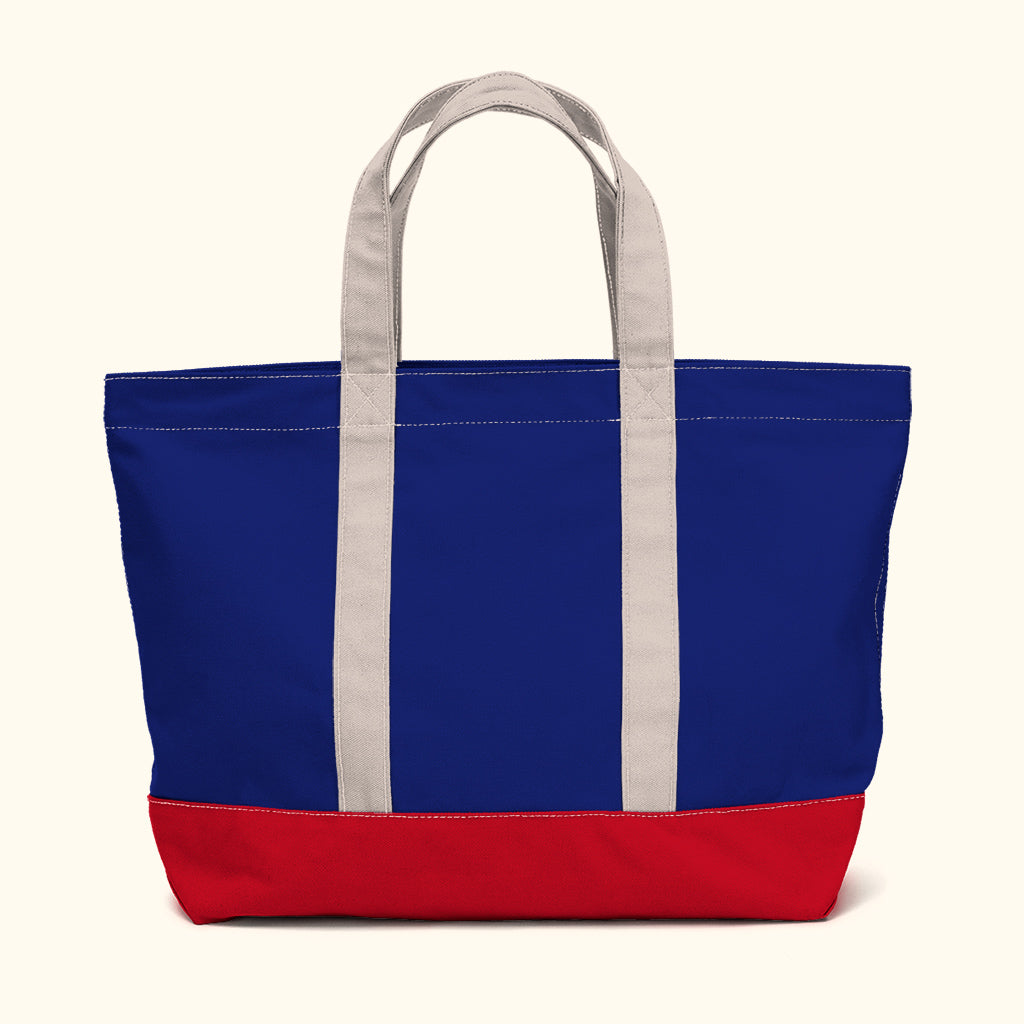 """Big Sur"" Zippered Tote (BS180009Z)"