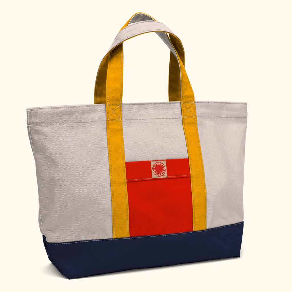 """Big Sur"" Zippered Tote (BS180012Z)"