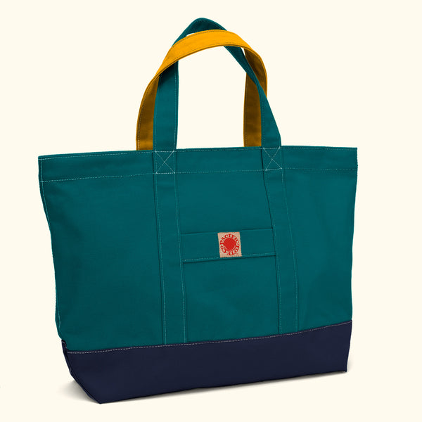 """Big Sur"" Zippered Tote (BS180015Z)"