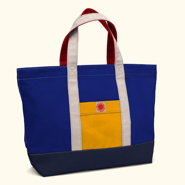 """Big Sur"" Zippered Tote (BS180018Z)"
