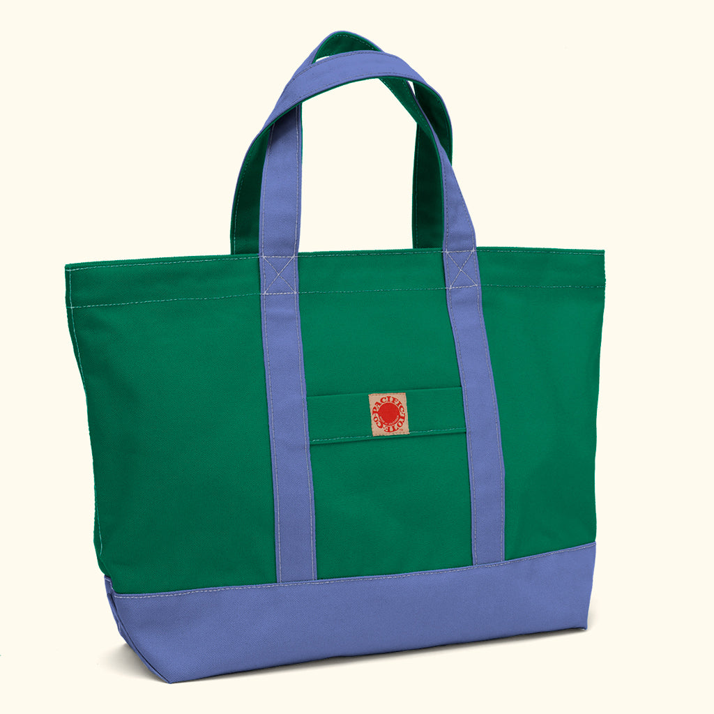 """Big Sur"" Zippered Tote (BS180021Z)"