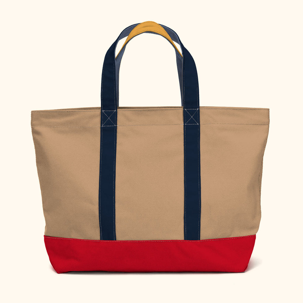 """Big Sur"" Zippered Tote (BS170005Z)"