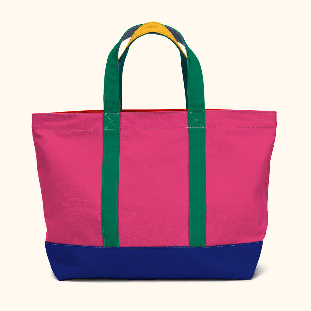 """Big Sur"" Zippered Tote (BS170008Z)"