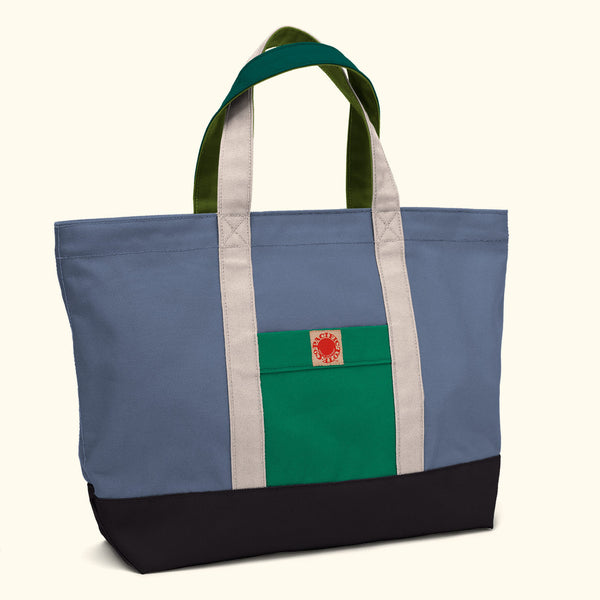 """Big Sur"" Zippered Tote (BS170009Z)"