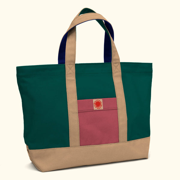 """Big Sur"" Zippered Tote (BS170010Z)"