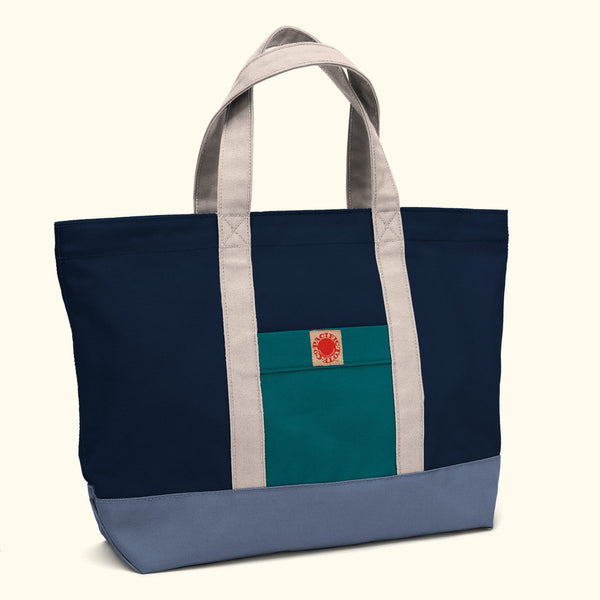 """Big Sur"" Zippered Tote (BS170013Z)"