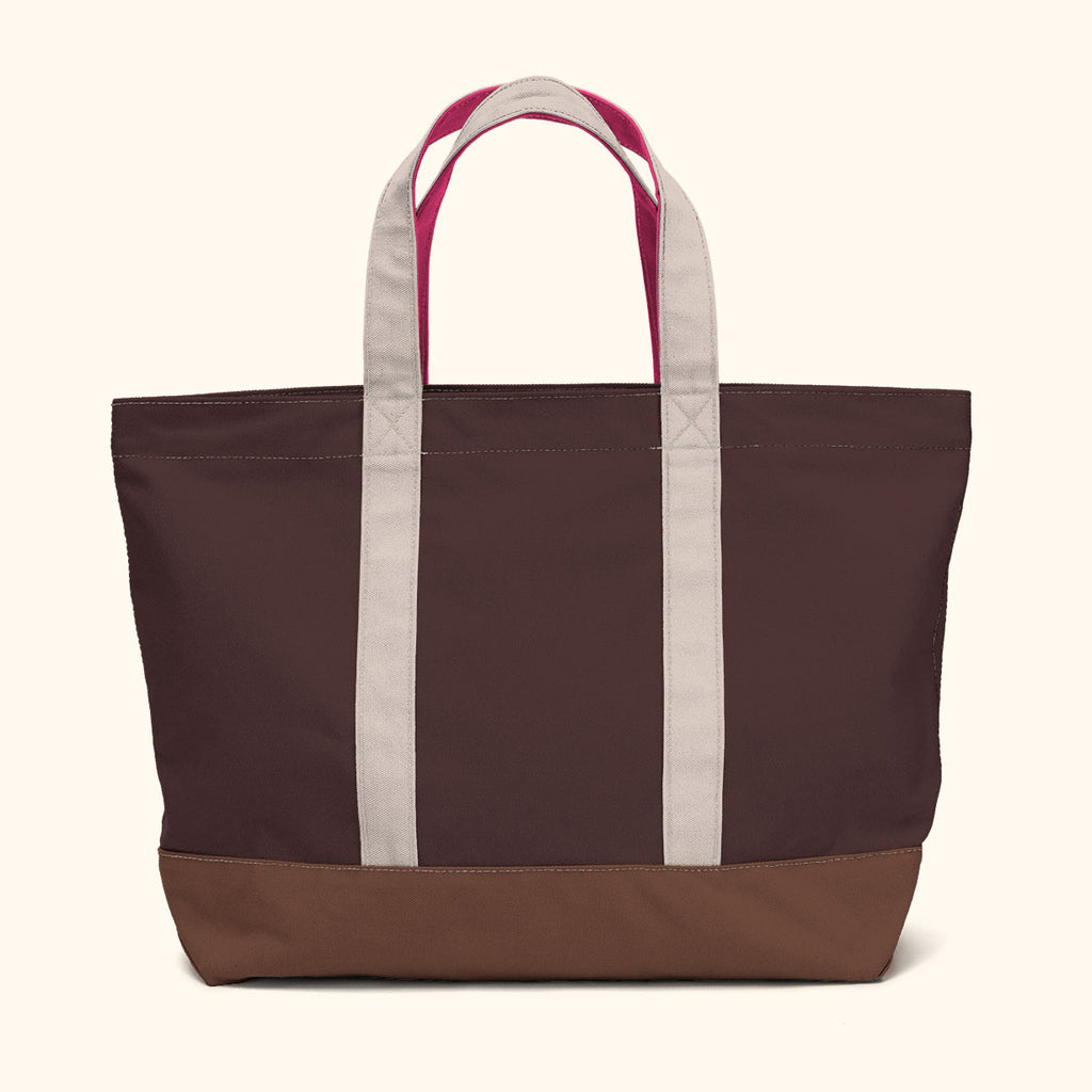 """Big Sur"" Zippered Tote (BS170018Z)"
