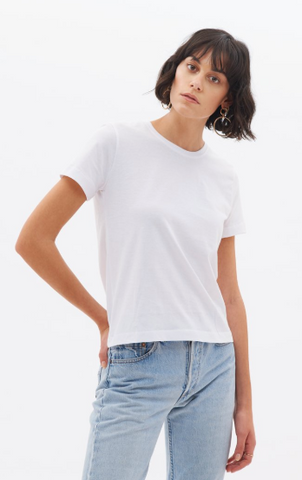 White T-Shirt from KOTN