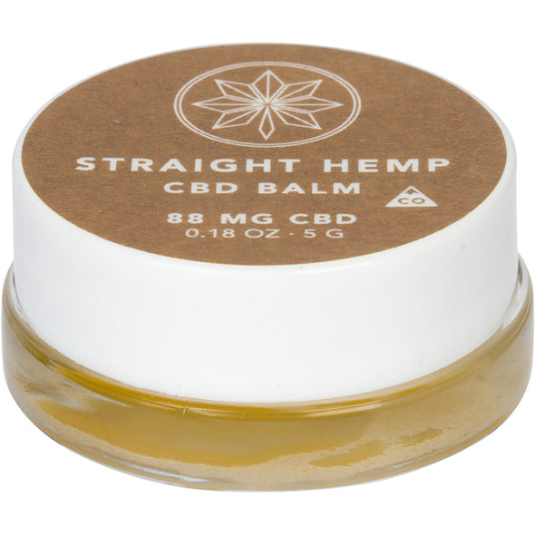Straight Hemp CBD Balm