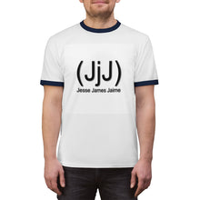 Load image into Gallery viewer, (JjJ) Jesse James Jaime Unisex Ringer Tee