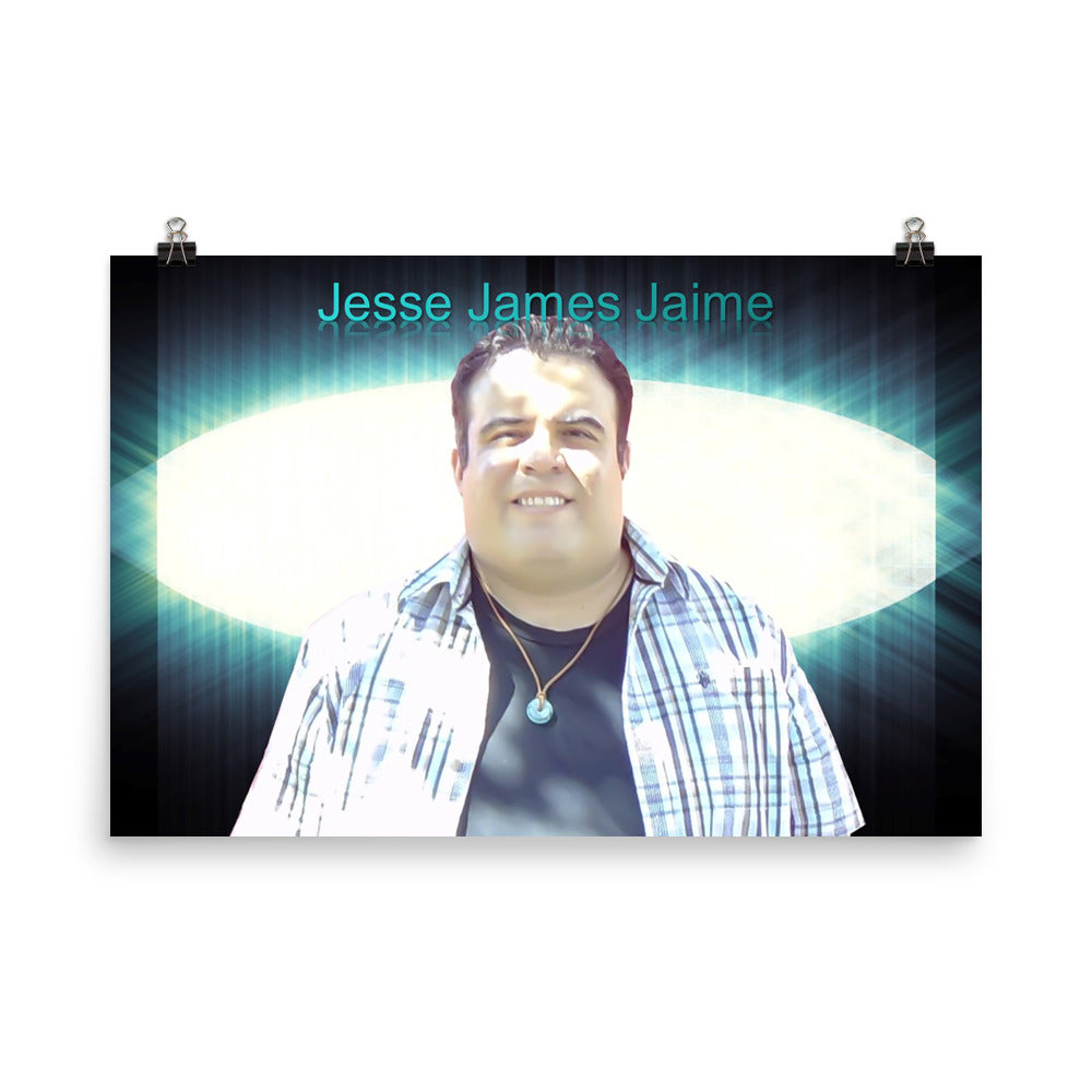 (JjJ) Jesse James Jaime Photo paper poster #1