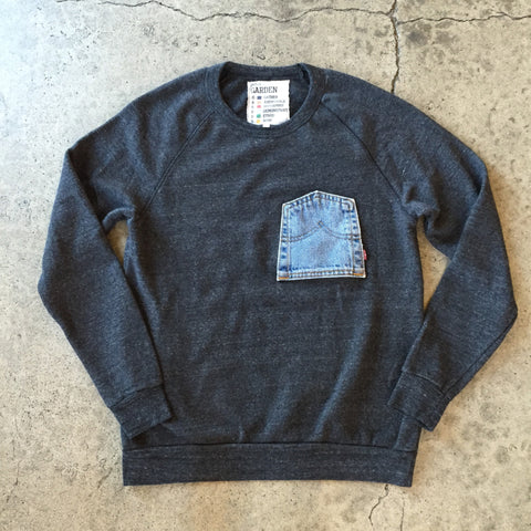 Upside Down Levi's Pocket Fleece Crew