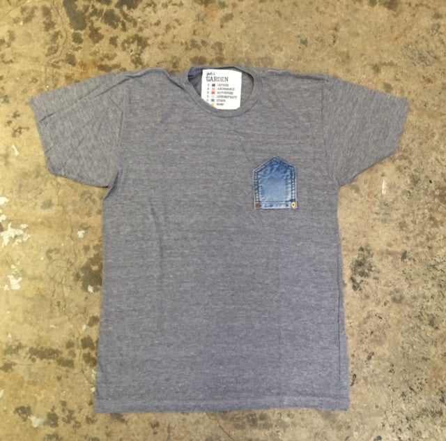 Upside Down Levi's Pocket Tee Shirt