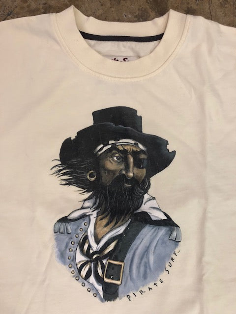 Pirate Surf - Pirate Iron-on Tee