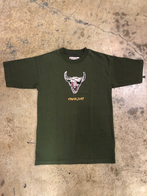 Pirate Surf - Cow Skull Patch Tee