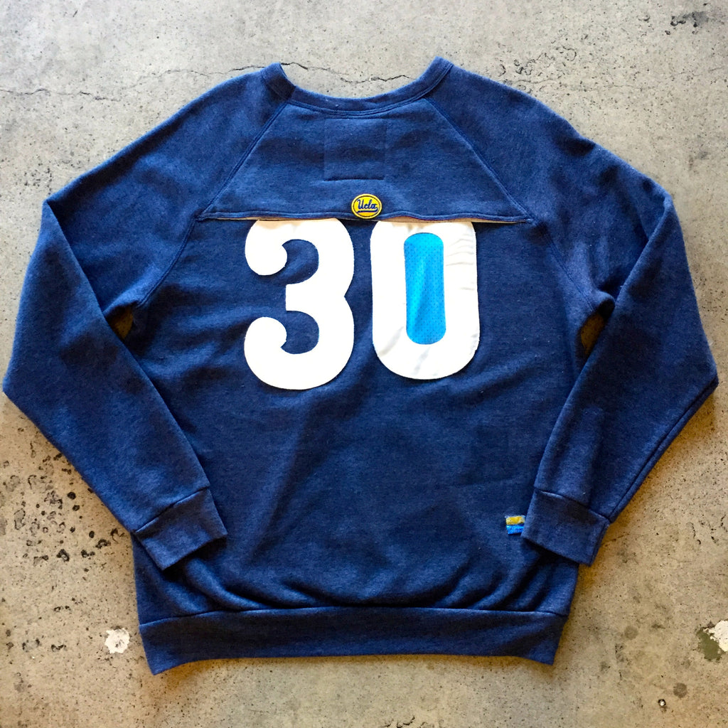 UCLA Vent Fleece Crew with Jersey #