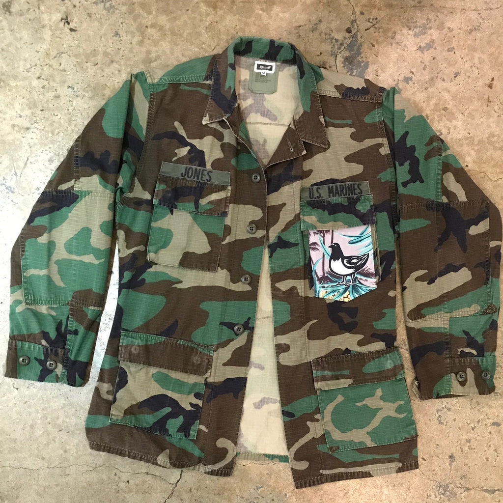 Mucho Aloha - Boogie Short Pocket Army Jacket