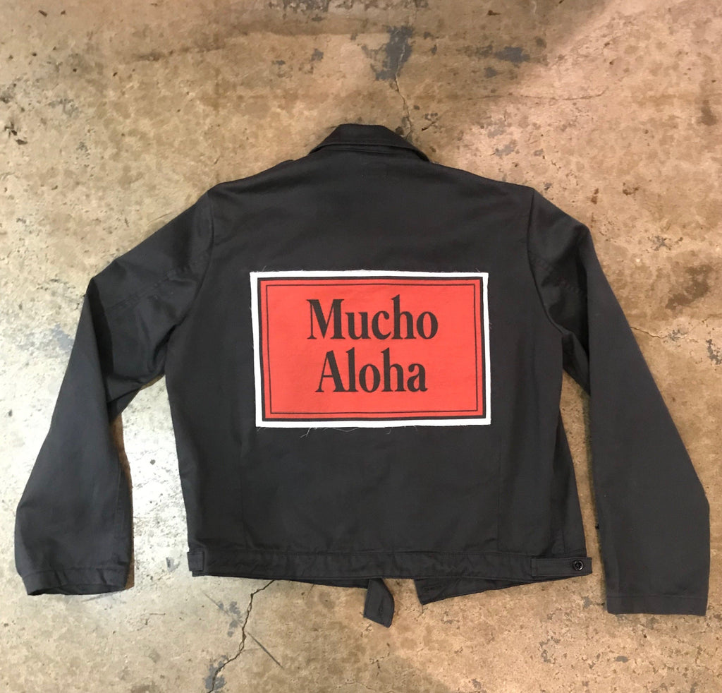 Mucho Aloha - Crop Military Jacket