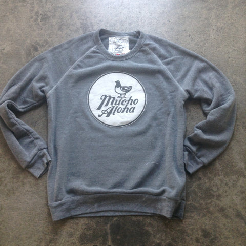 Pidgin Patch Frisbee Fleece Pullover