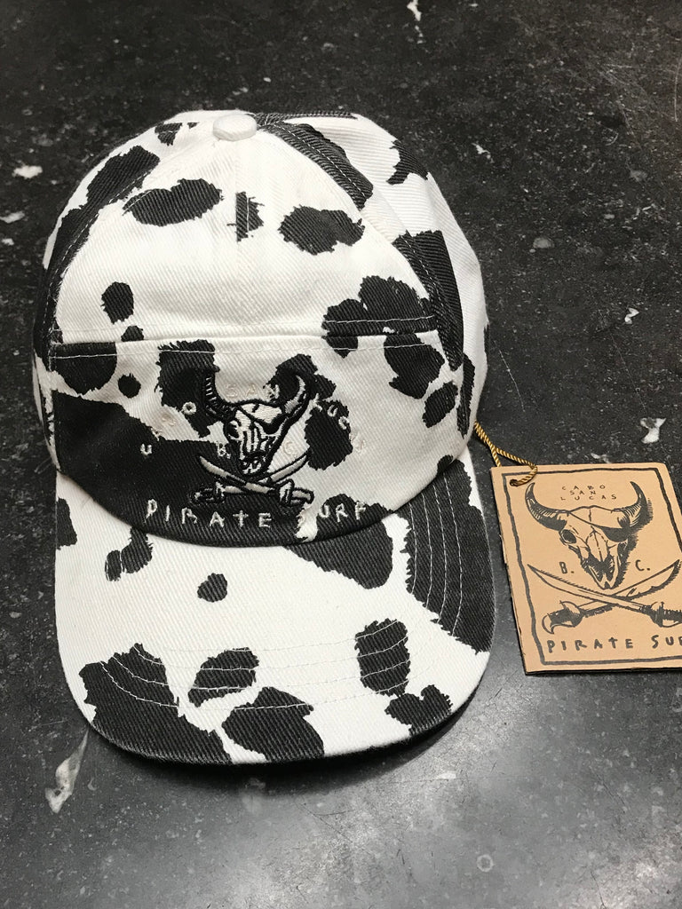 Pirate Surf - 1989 Original 7 Panel Cow Hat