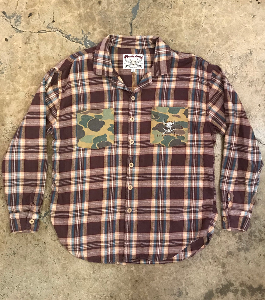Pirate Surf - The Original Acid Washed Flannel