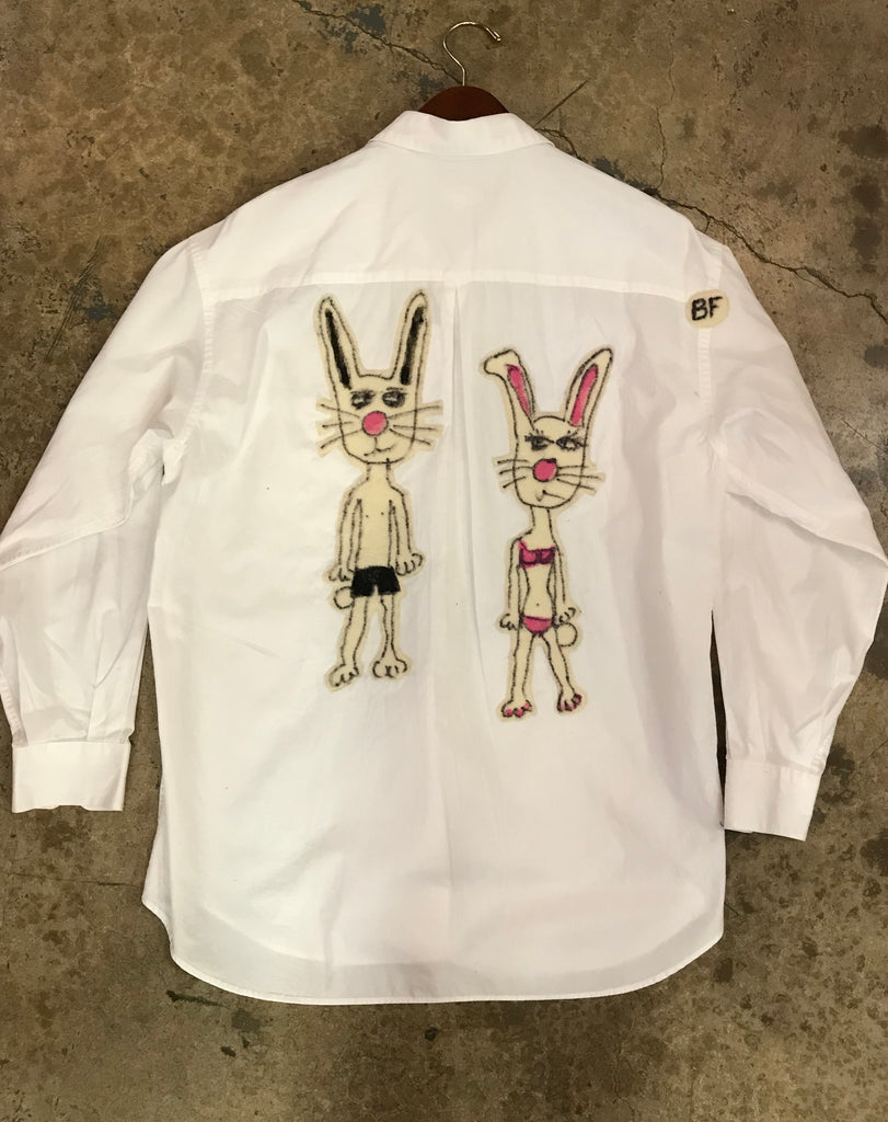 Rabbit, Rabbit - Button Down
