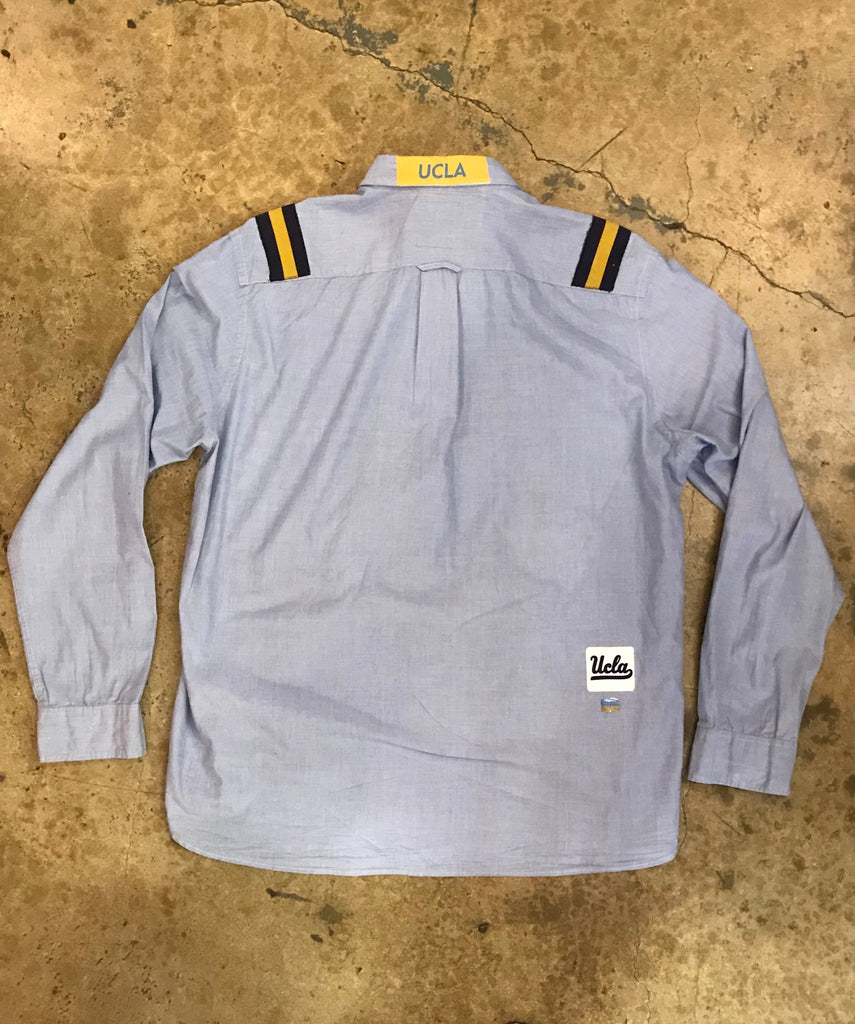 UCLA - Uniform Shoulder Stripes Button Down