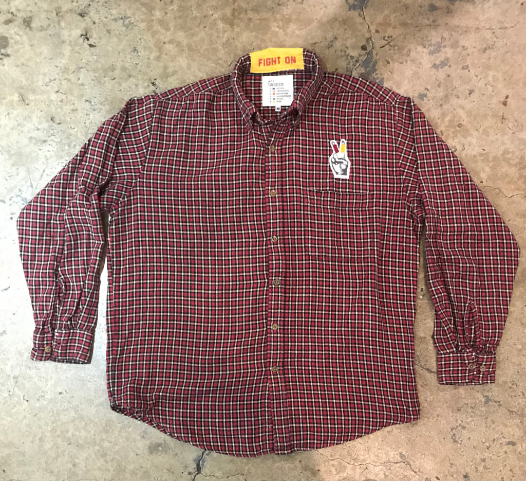 USC - Flannel LS Shirt