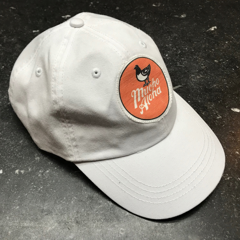 Mucho Aloha - Orange Circle Dad Hat