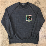YS-18 Patch Pocket Crewneck Sweatshirt
