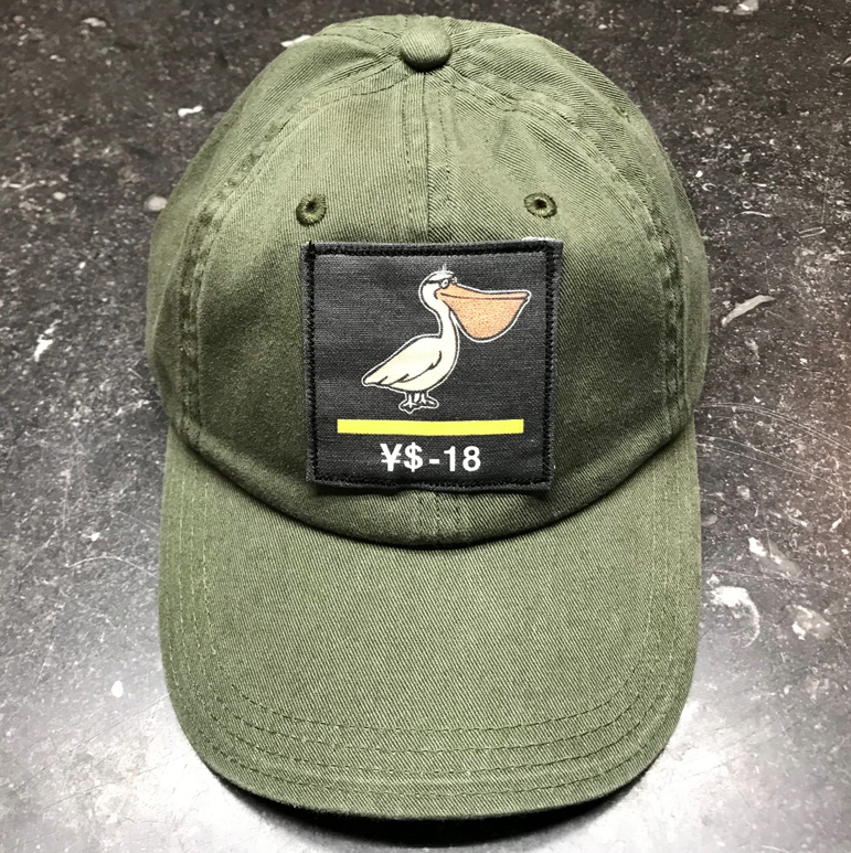 YS Black Patch Dad Hats