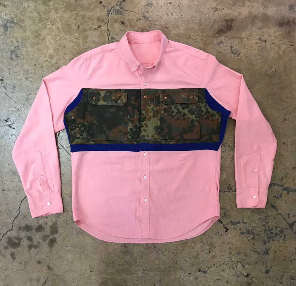 Yoki - Oxford Military Shirt