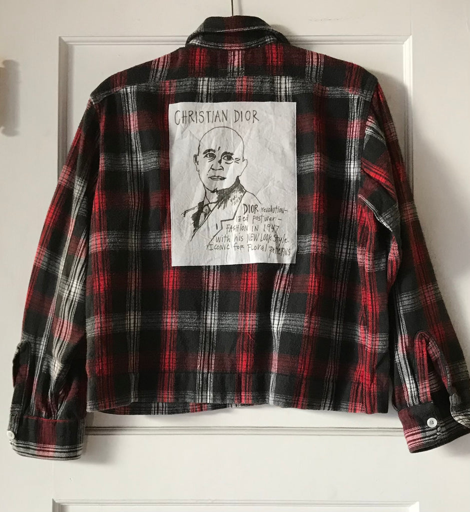 Yokishop - Crop Top Christian Dior Flannel (Women's)