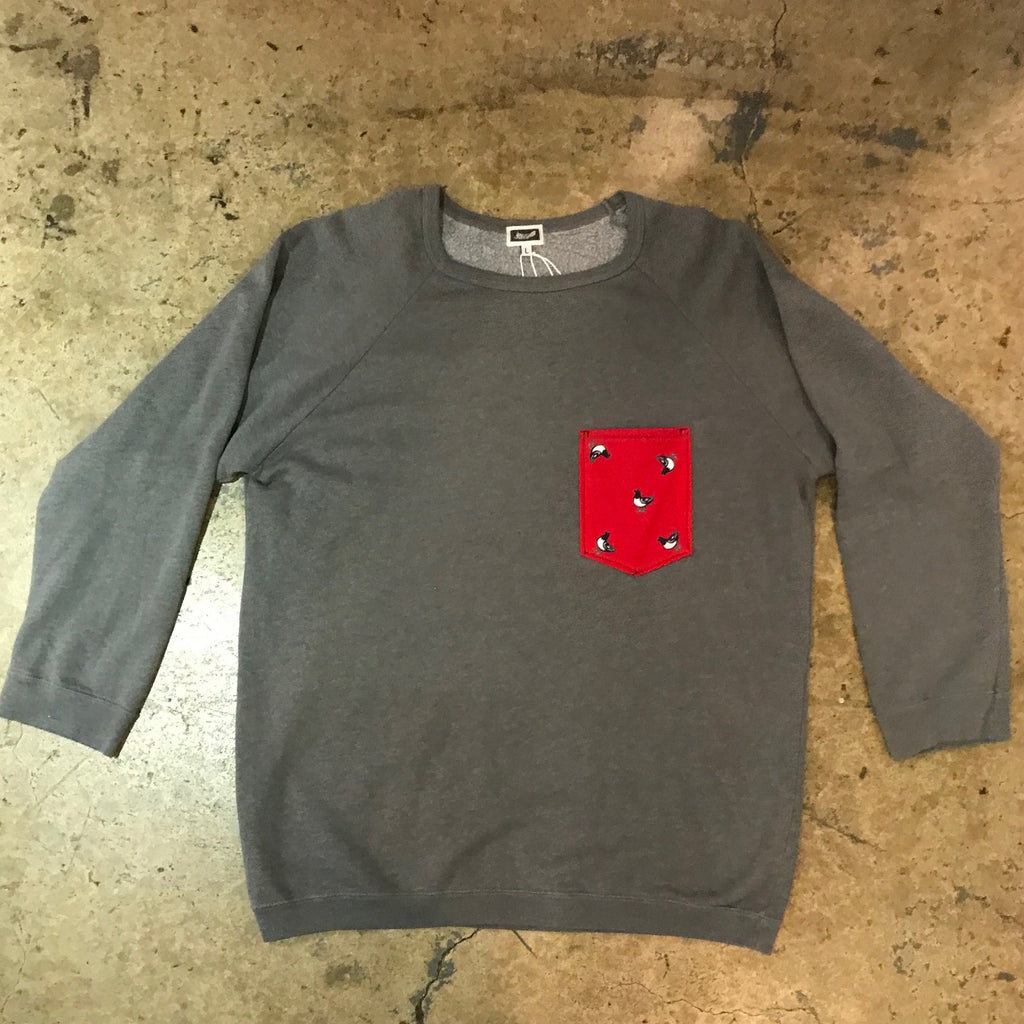 Yokishop - Vintage Boogie Short Pocket Sweatshirts