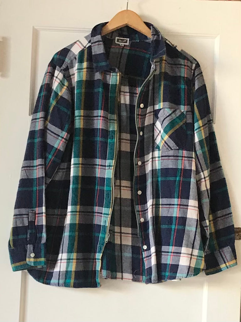 Yokishop - Women's Front Zip Flannel