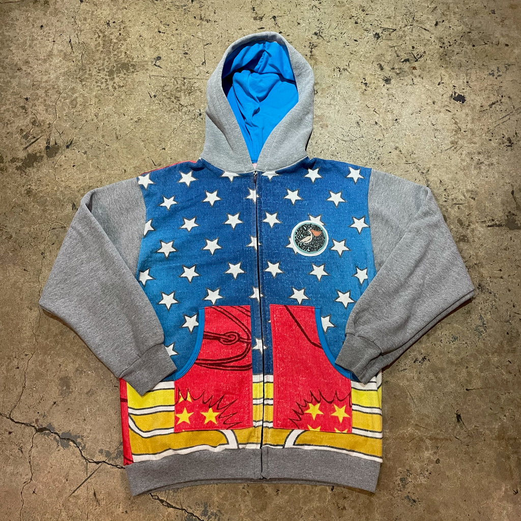 Yokishop - Wonder Woman Beach Towel Hoodie