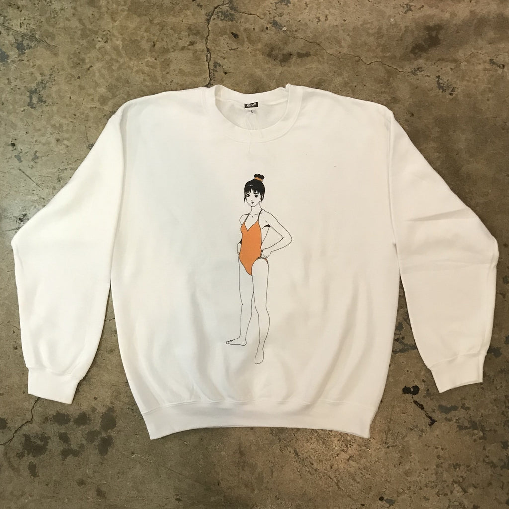 "Yokishop - Athletic Cut ""U"" Sweatshirt"