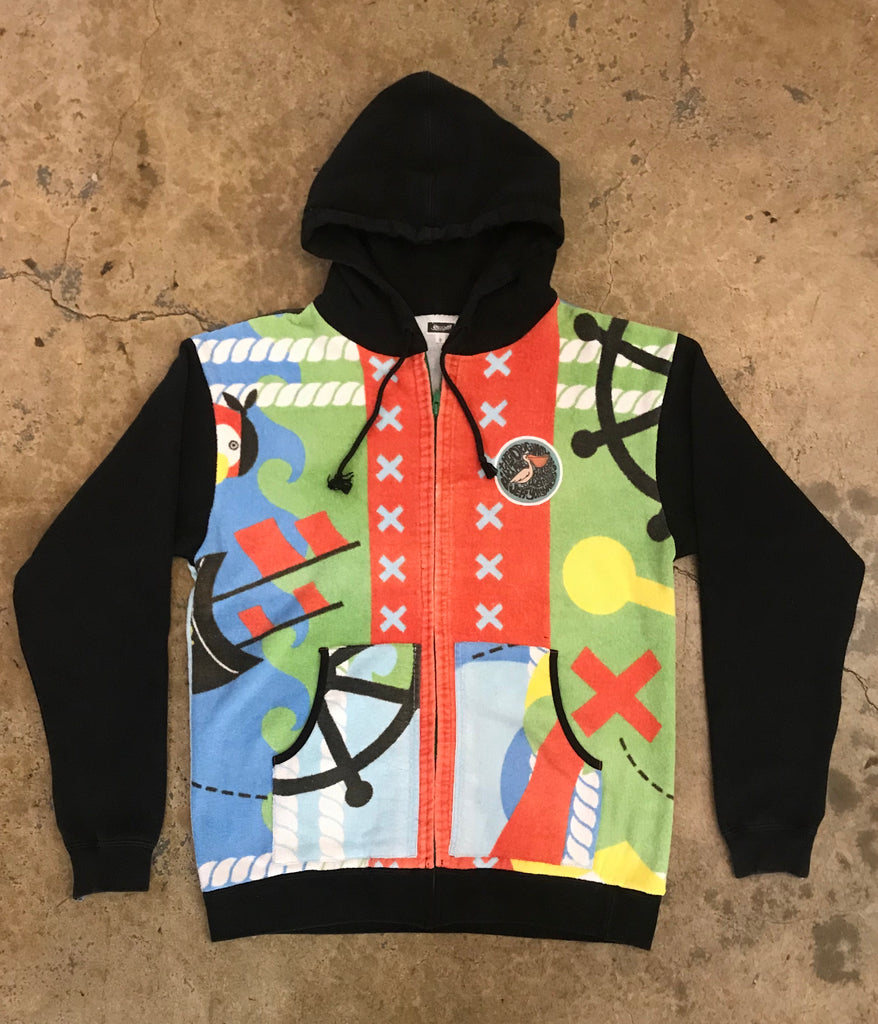 Yokishop - The Original Beach Towel Sweatshirt