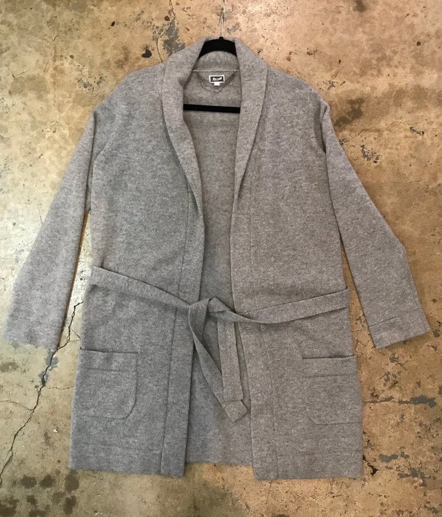 Yokishop - Cashmere Sweater Trench Coat
