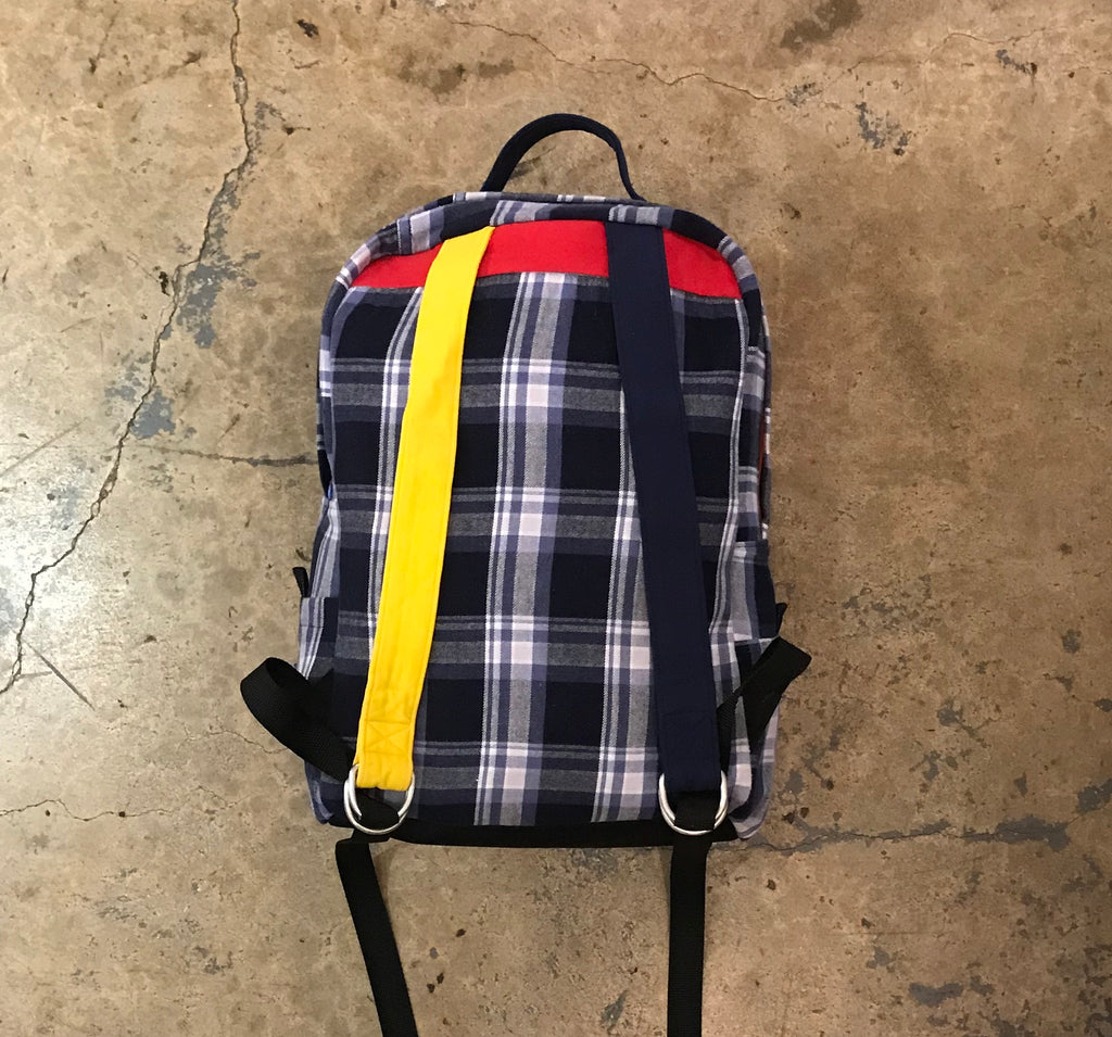 Yokishop - Flannel Back Pack