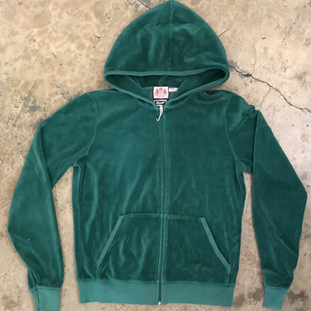 Yokishop - Juicy Couture Velour Zip Hoody